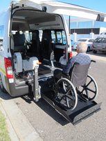 Nissan in South Africa is the first to offer taxis for wheelchair customers