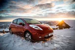 Nissan LEAF is one of the top three 2016 passenger cars in Norway