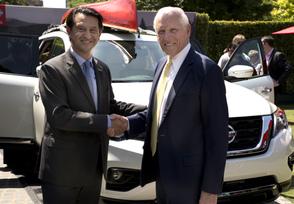 2017 Nissan Pathfinder makes world debut during sponsorship anno