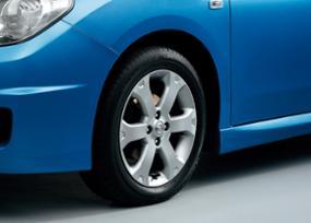 16-inch alloy road wheel& 195/55R16 86V tire