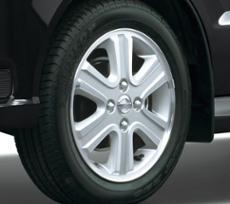 165/60R14 75H tire+14inch aluminum wheel