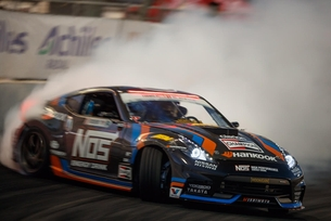Chris Forsberg becomes the first-ever three-time Formula Drift W