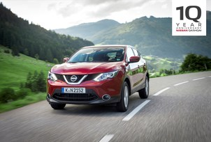 2007-2017: Nissan Qashqai celebrates 10 years of crossover leade