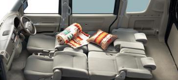 Seat arrangement (flat seat)
