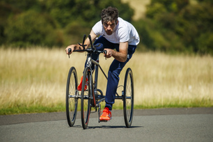 Nissan creates cutting edge titanium trike for three-time Paralympic gold medallist David Stone MBE