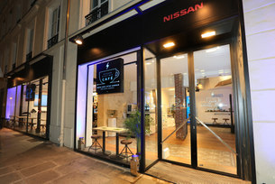 New Nissan Electric Café opens in Paris