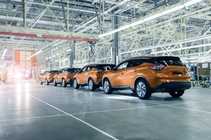 Nissan Murano is launched into production at Saint Petersburg plant