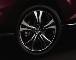 Graphite finish alloy wheel