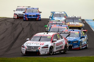 Caruso and Nissan grab sixth at Phillip Island V8 Supercar race