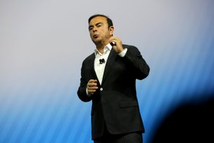 Nissan CEO Carlos Ghosn announces breakthrough technologies at CES
