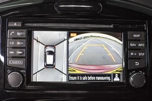 Nissan Juke uses onboard cameras to set world-first 'blind' J-tu