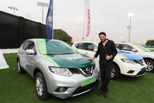 Nissan sets off the ICC Champions Trophy tour on its journey to the UK