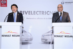 Renault-Nissan Alliance named official COP22 passenger car partn