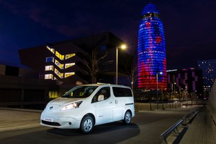 Nissan e-NV200 is Europe's best-selling electric van