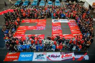 Nissan says thanks to the fans at NISMO Festival at Fuji