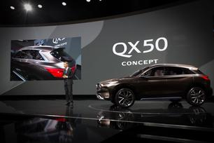 QX50 Concept: INFINITI