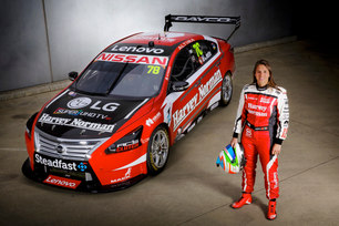 Harvey Norman joins Simona de Silvestro on her Supercar journey in Australia