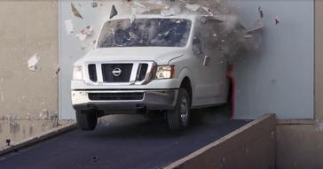Nissan NV Cargo Van drifts into April, fools Chris Forsberg