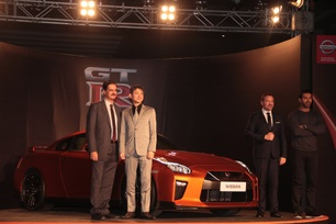 2017 Nissan GT-R roars into India