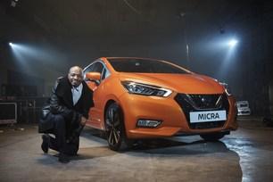 Stephen Wiltshire recreates the all-new Micra's memorable design