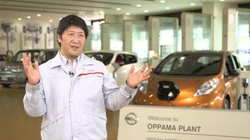 Nissan Oppama Plant Managing Director Toru Takahashi