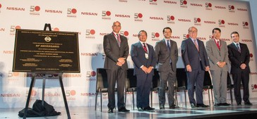 Nissan CIVAC Plant celebrates 50 years of continuous operation i