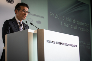 2015年度第3四半期決算発表