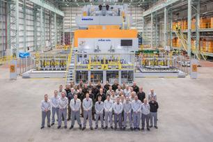 New extra large press starts production as Nissan Sunderland plant passes nine million mark