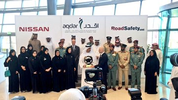 Aqdar and Nissan Middle East join hands to reduce mobile phone related fatalities among young drivers