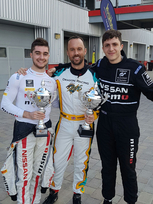 Guindi and Sarazin battle GT Academy mentor in Dubai preparation