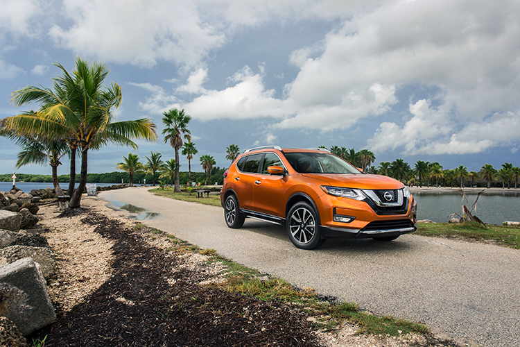 Nissan Continues U0027Year Of The Trucku0027 Momentum With World Debut Of New 2017 Nissan  Rogue At Miami Auto Show