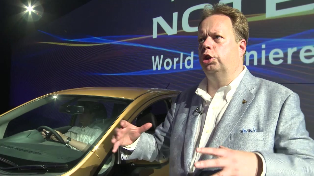 Notable Entry: EVP Andy Palmer on the new Nissan Note