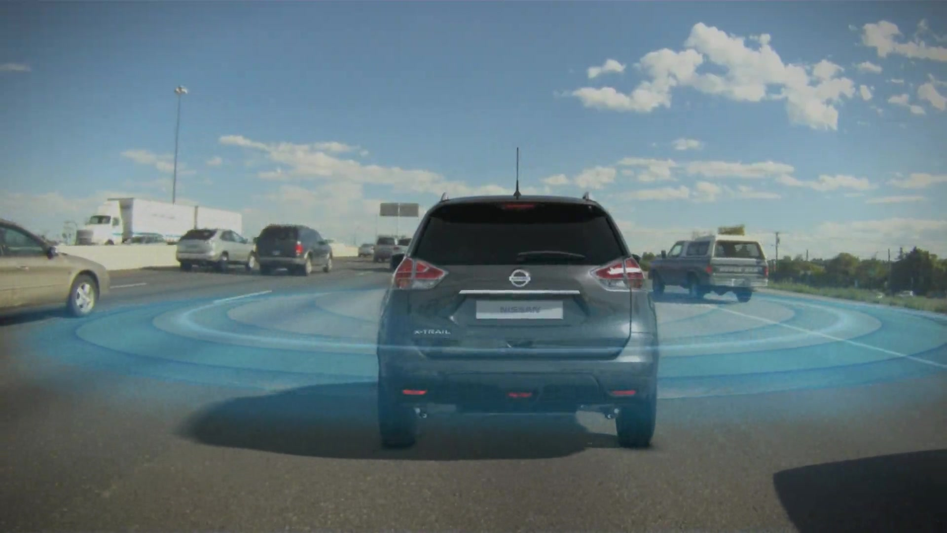 Nissan X-Trail Technology: Safety Shield