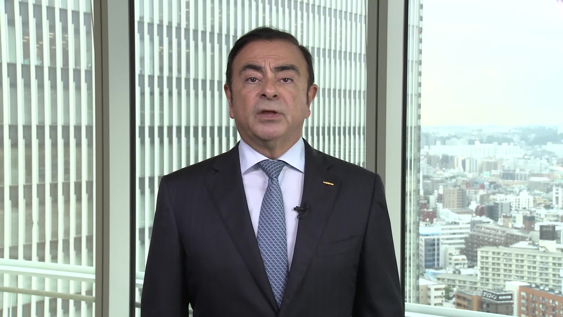 Nissan CEO Carlos Ghosn Message on Mitsubishi Motors