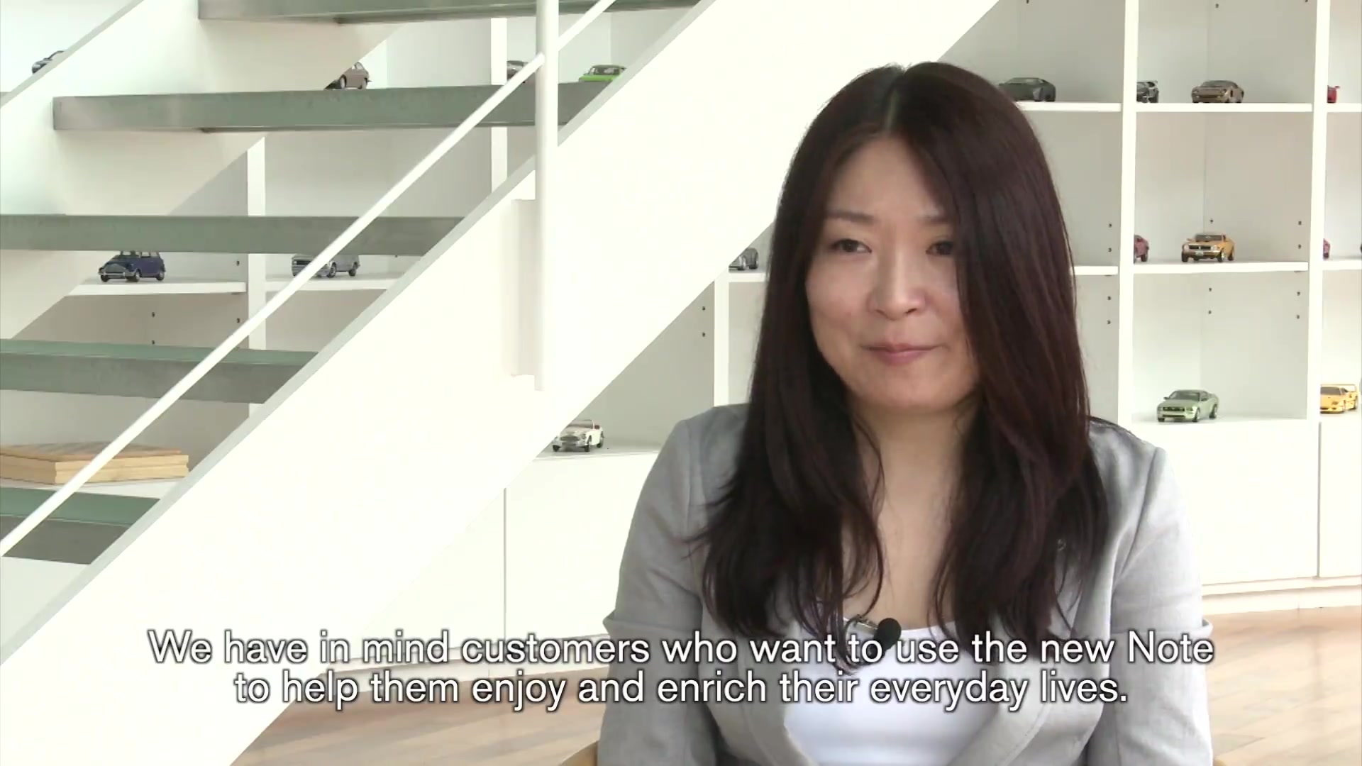 Nissan Chief Product Specialist Mie Minakuchi on the new Note