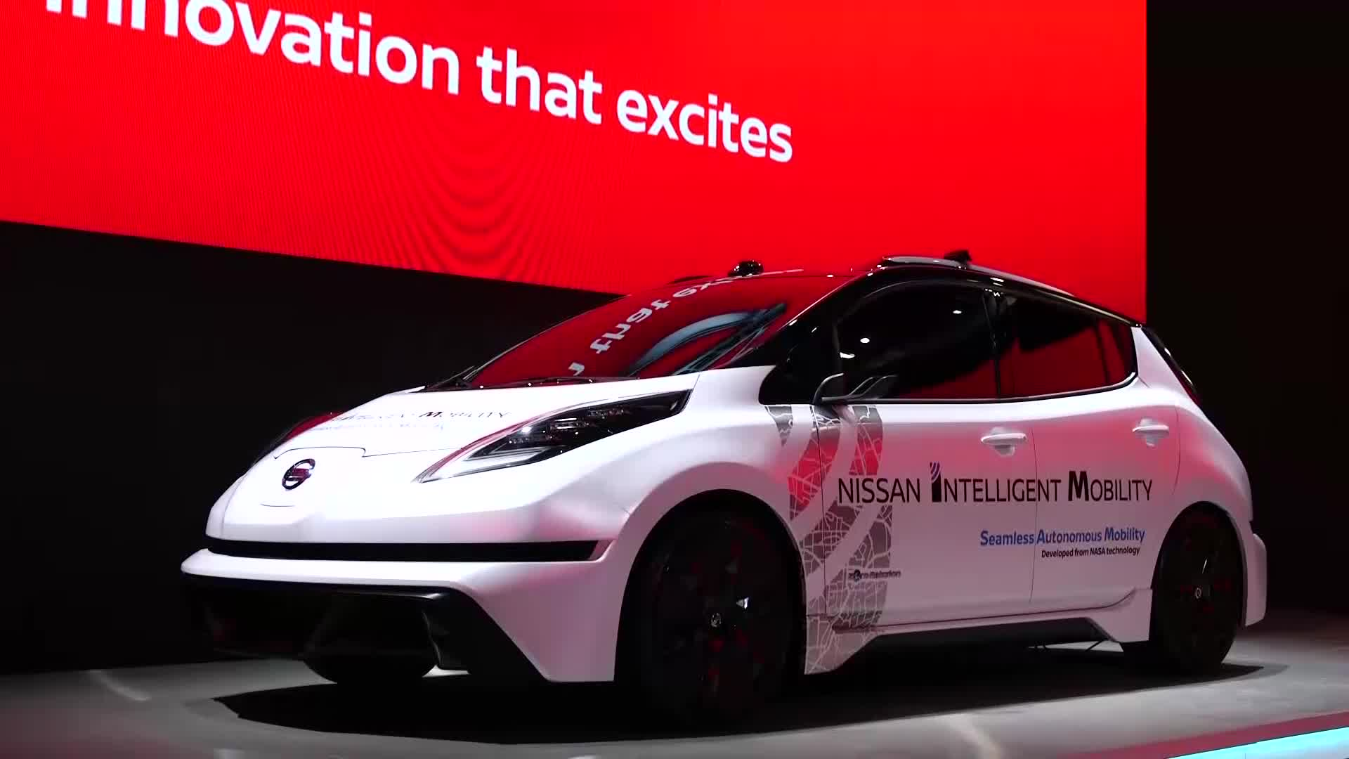 B-Roll: Nissan Highlights at CES 2017