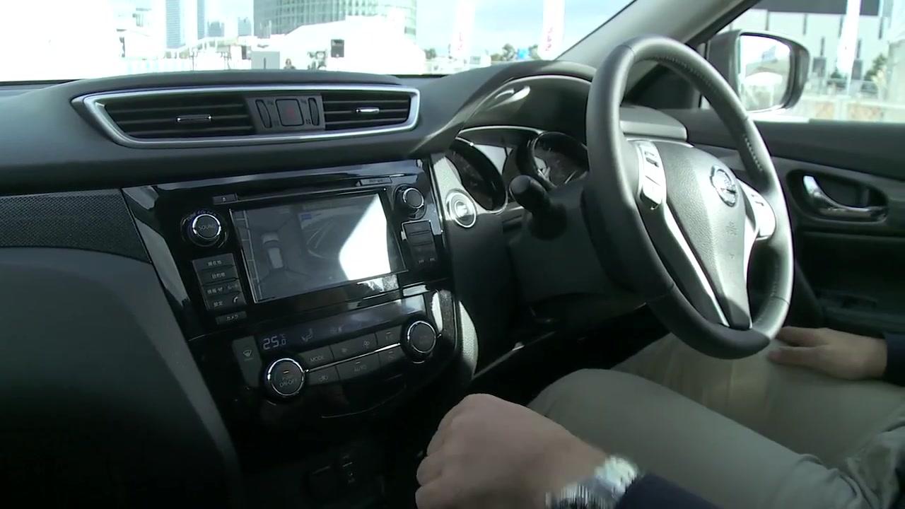 Nissan X-TRAIL (Japan) Footage Part 2: Emergency Brake / Intelligent Parking Assist