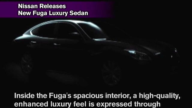 Nissan Releases New Fuga Luxury Sedan