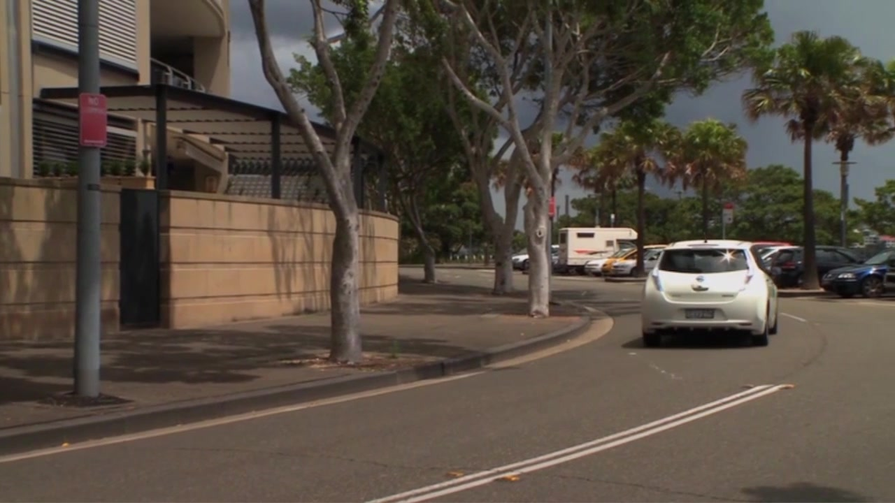 Nissan LEAF joins the ranks of Sydneysiders