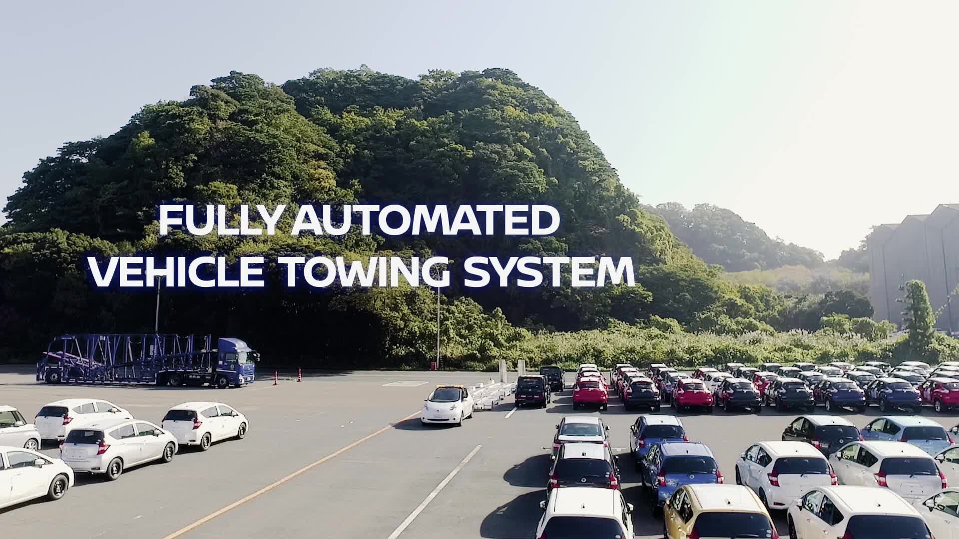 Intelligent Vehicle Towing video