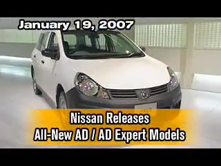 Nissan Releases All-New AD/AD Expert Models