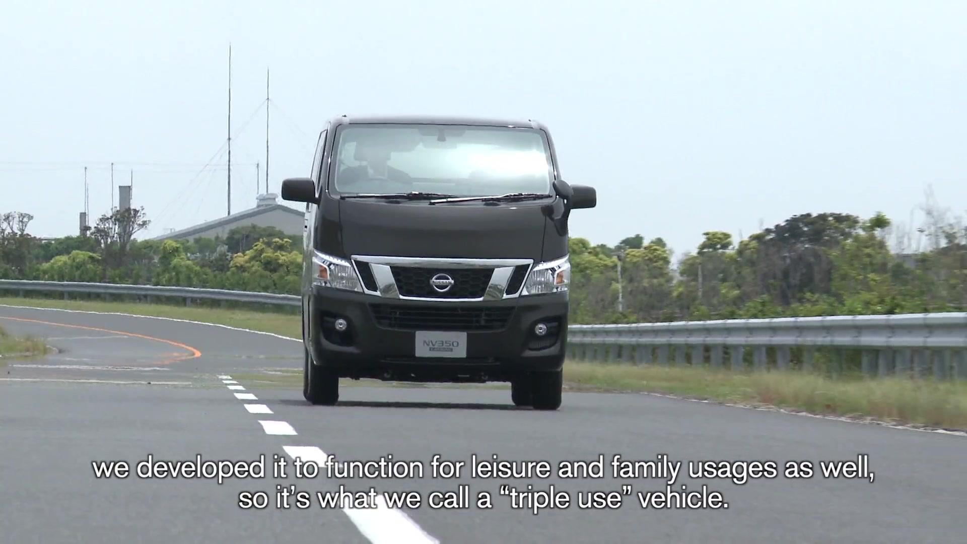NV350 Chief's Lowdown on Nissan's Newest Van