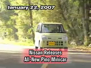 Nissan Releases All-New Pino Minicar
