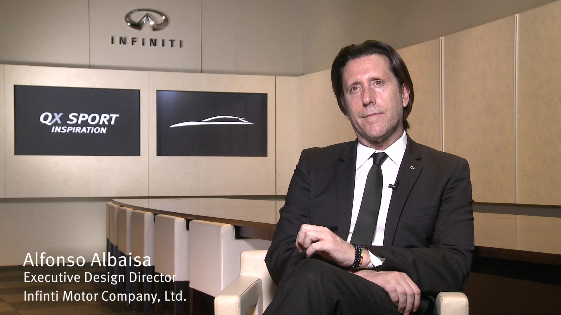 INTERVIEW: Infiniti QX Sport Inspiration