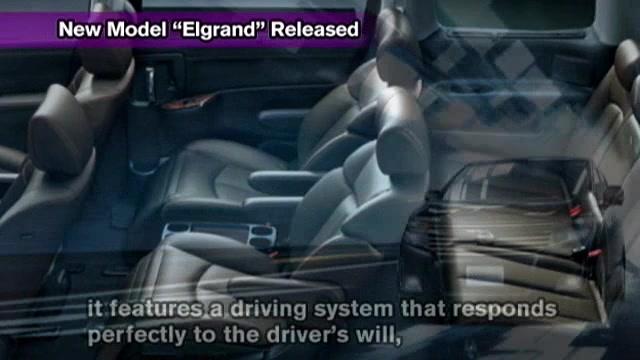 "New Model ""Elgrand"" Released"