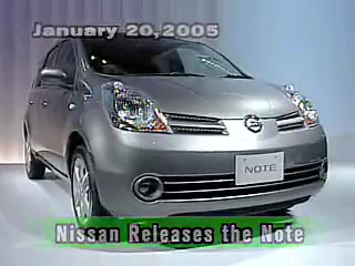 Nissan Releases the Note