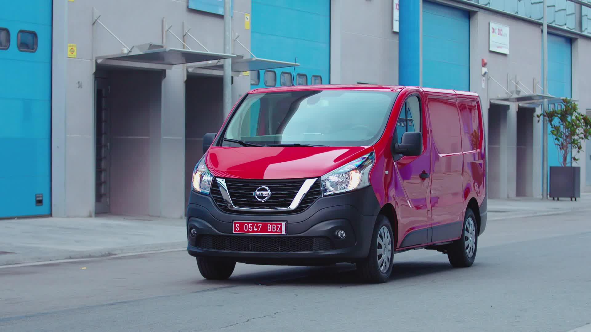 B-Roll: Nissan NV300 Van